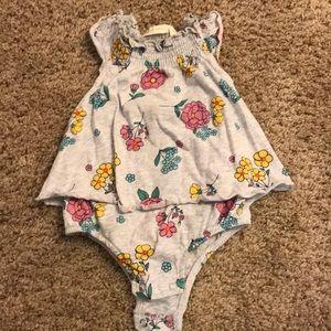 Baby girl flower top